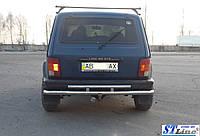 Lada Niva 2121 (85+) задняя защита