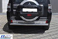 Mitsubishi Pajero Wagon 4 (06+) задняя защита