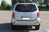 Nissan Pathfinder (06-13) задняя защита