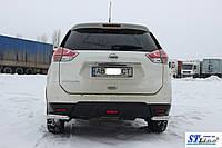 Nissan X-Trail T32 (13+) задняя защита углы