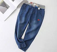 Штаны джинсовые летние Слоник 130, фото 1