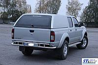 Nissan NP 300 (07+) задняя защита