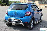 Renault Sandero-stepway II (12+) задняя защита