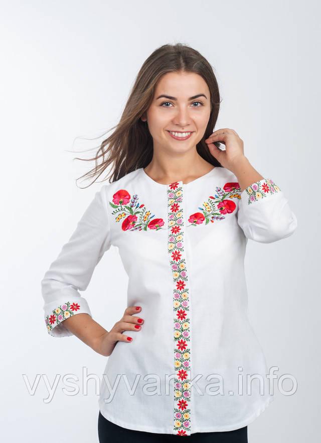 Сорочка вишиванка біла