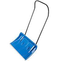 Ковш для уборки снега 760*420 мм, ручка 115 мм синий INTERTOOL FT-2094