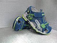 Сандалии  детские синие для мальчика  28р.29р.30р.31р.32р, фото 1