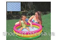 Детский надувной бассейн с надувным дном Intex 86х25 см