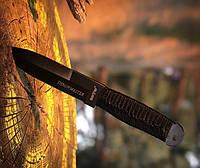 Нож метательный Хан, с тканевым чехлом в комплекте