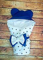 Конверт-одеяло на выписку Микки Маус, конверт на выписку