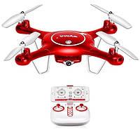 Квадрокоптер Syma красный, X5UW, 720p, WiFi, FPV