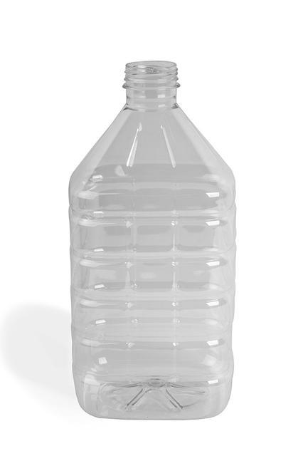 ПЕТ пляшка, 4 л.