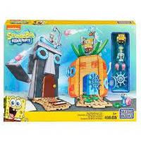 Губка Боб Погані Сусіди (Компанії Мега Блокс) MEGA BLOKS Spongebob Squarepants Bad Neighbours Set