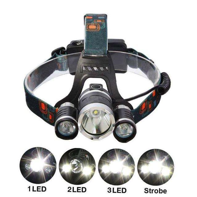 Ліхтарі ручні і налобні, електрошокери
