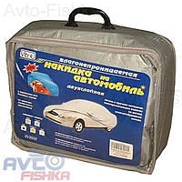 Тент для автомобиля  FD3000 S серый с подкладкой PEVA+PP Catton
