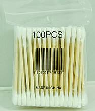 Палички для чищення вух, уп.100шт
