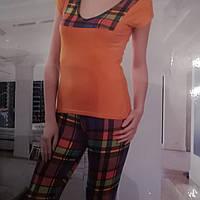 Летний костюм лосины и футболка