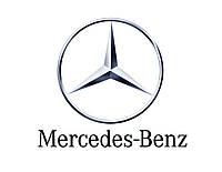 Защита переднего бампера на Mercedes (Мерседес) GL w164 (оригинал) A1645241130
