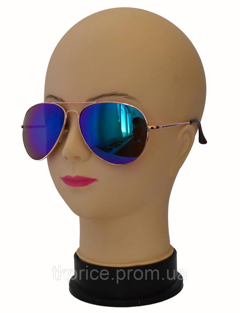 Стильные солнцезащитные очки авиатор 06
