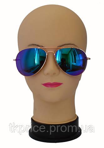 Стильные солнцезащитные очки авиатор 06, фото 2