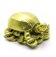 Черепаха каменная крошка желтая