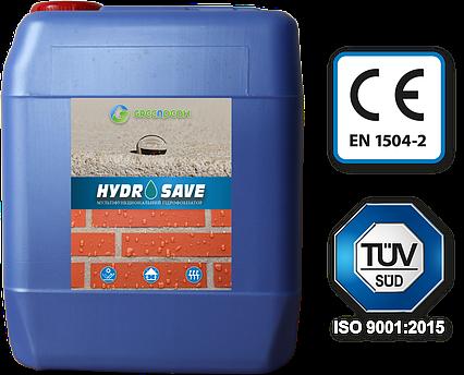 HYDROSAVE:Гидрофобизатор на водной основе для пористых стройматериалов, фото 2