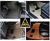 Автомобильные Коврики из Кожи 3D