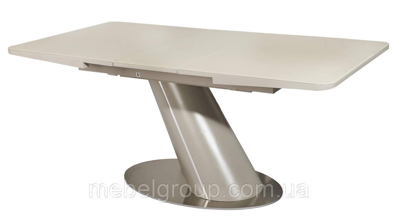 Стол TML-541 матовый беж + матовый латте 140/175x85