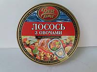 "Лосось з овочами по-мексиканські ""Бест Тайм"" 240г (1/48)"