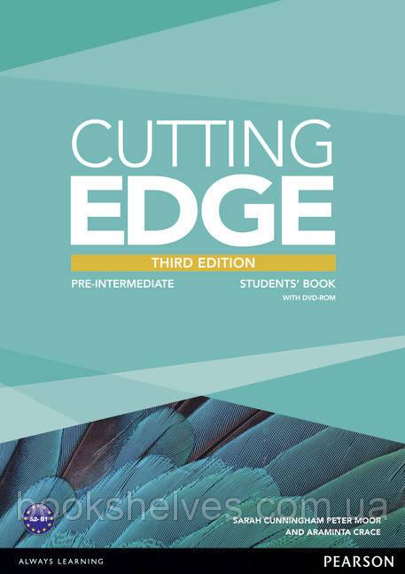 Cutting Edge 3rd ed Pre-intermediate Student's Book+DVD