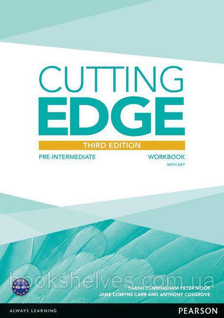 Cutting Edge 3rd ed Pre-Intermediate Work Book+Key