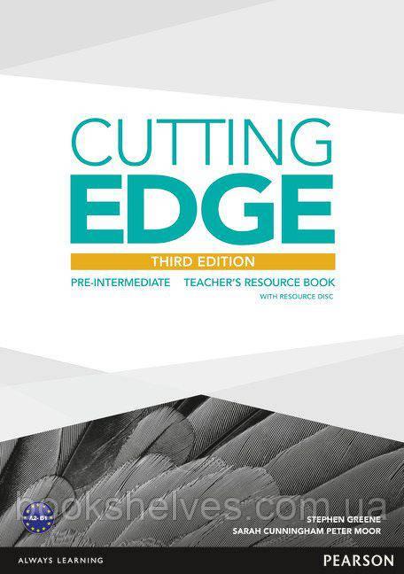 Cutting Edge 3rd ed Pre-Intermediate Teacher's Resourse Book+CD