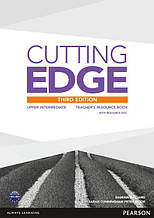 Cutting Edge 3rd edition Upper-Intermediate Teachers ResourseBook+CD