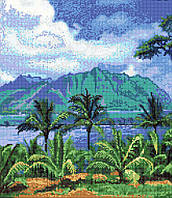 Панно из мозаики Пальмы и море 1,8*2,1 D-Core