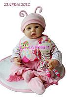 Силиконовая Коллекционная Кукла Реборн Reborn ( Виниловая Кукла ). Арт.142, фото 1