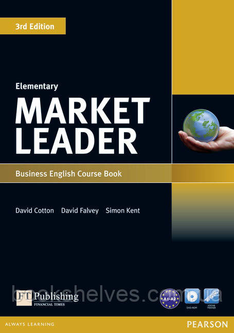 Market Leader 3edition Elementary Student's Book+DVD