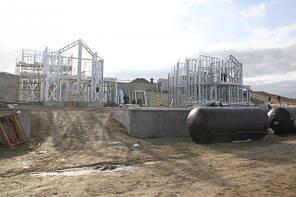 Коттеджный городок по технологии ЛСТК, г. Судак -1