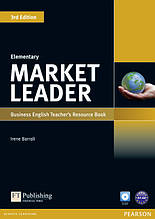 Market Leader 3ed Elementary Teachers ResourseBook+Test Master CD-ROM