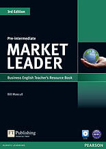 Market Leader 3ed Pre-Intermediate Teachers ResourseBook+Test Master CD-ROM