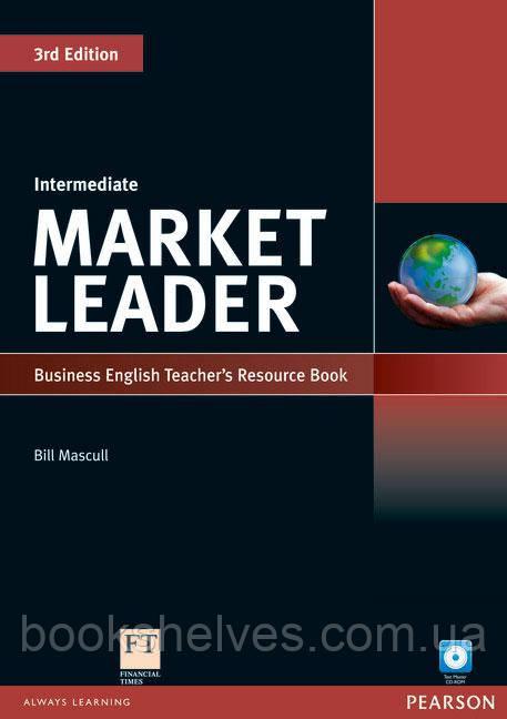 Market Leader 3ed Intermediate Teachers ResourseBook+Test Master CD-ROM