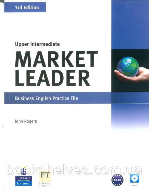Market Leader 3edition Upper-Intermediate Practice File+CD