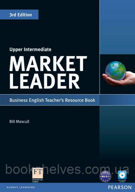 Market Leader 3ed Upper-Intermediate Teachers ResourseBook+Test Master CD-ROM