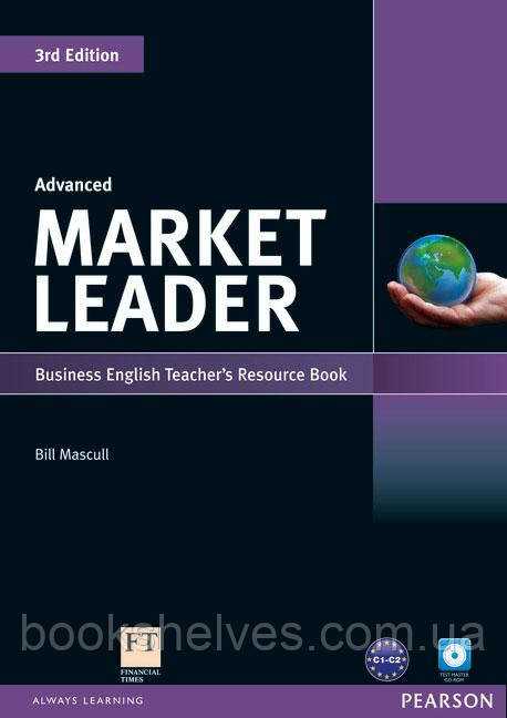 Market Leader 3ed Advanced Teachers ResourseBook+Test Master CD-ROM