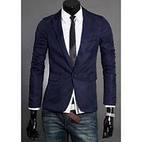 Приталенный мужской Классический пиджак супер качества