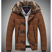 Мужская куртка с мехом зима, фото 1