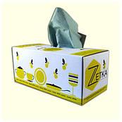 Полотенца бумажные в картонном боксе, 1-но слойные, розовые, 180 листов/уп