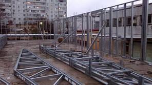 Надстройка здания, г Южноукраинск, Николаевская обл. -1