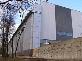 Вентилируемые фасады, логистический комплекс, г. Днепропетровск