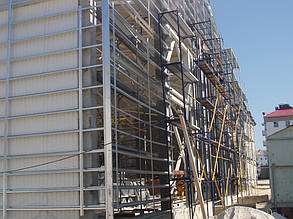 Вентилируемый фасад, спорткомплекс, г. Севастополь 4