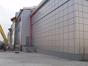 Вентилируемый фасад, спорткомплекс, г. Севастополь 7