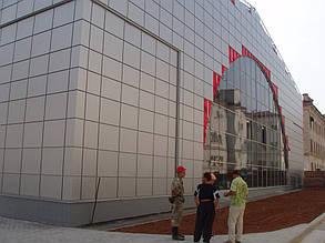 Вентилируемый фасад, спорткомплекс, г. Севастополь 8